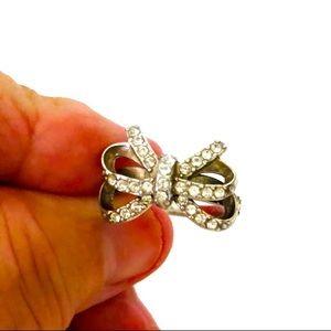 Brighton bow ring.  Size 8-81/3.  SOLD